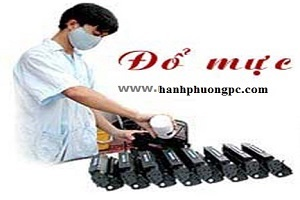 Đổng mực máy in tại nhà Phạm Văn Đồng